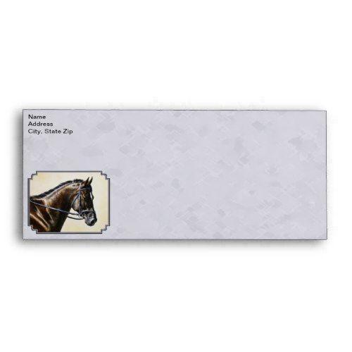 Dark Bay Sport Horse Gray Envelope