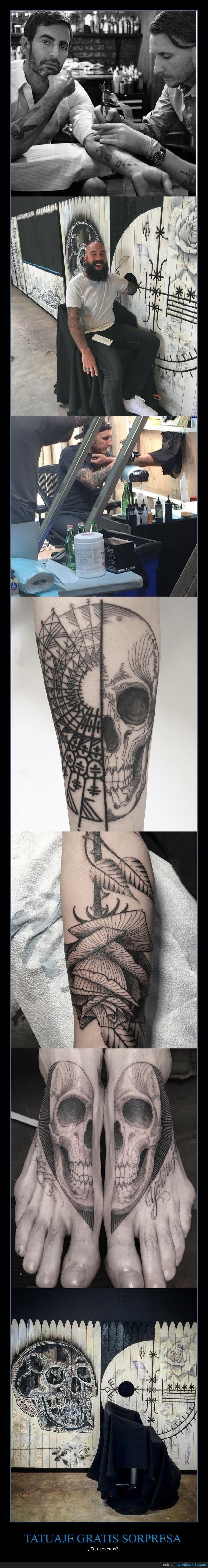 Famoso tatuador ofrece tatuajes gratis pero tienen que ser sorpresa - ¿Te atreverías?   Gracias a http://www.cuantarazon.com/   Si quieres leer la noticia completa visita: http://www.estoy-aburrido.com/famoso-tatuador-ofrece-tatuajes-gratis-pero-tienen-que-ser-sorpresa-te-atreverias/