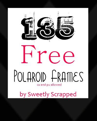 135 Free Polaroid Frames
