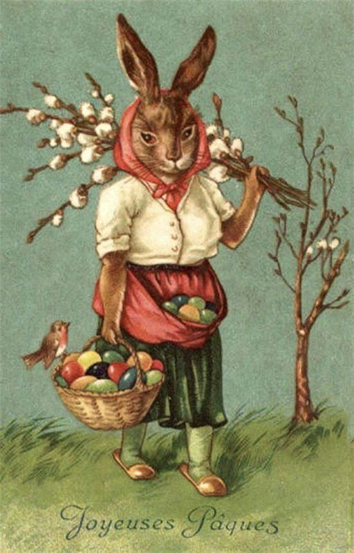 Old Easter Post Card — (512x800)