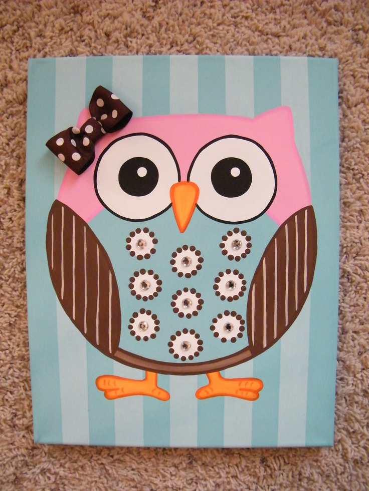210 best Owl Art Projects images on Pinterest | Owls, For ...