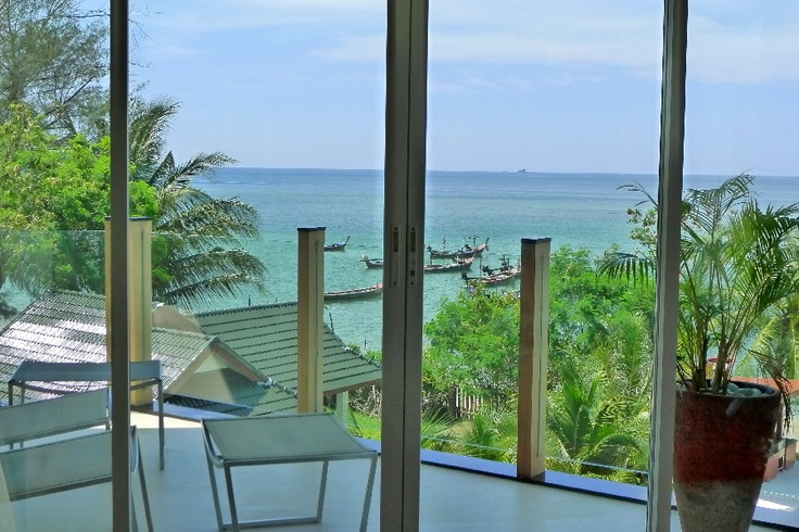 Open the window and feel the warm sea breeze on your skin... Luxury Beachfront Condo in Phuket, Thailand