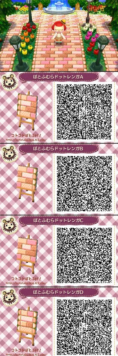 55 best animal crossing new leaf qr codes for paths for Animal crossing new leaf arredamento
