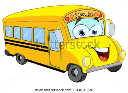 school bus drawing | Cartoon School Bus Stock Vector 83010226 : Shutterstock