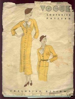 Vogue Couturier Pattern #2