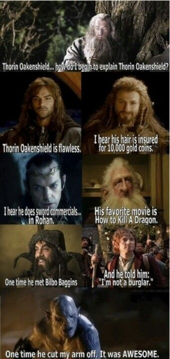 Hahaha The Hobbit Mean Girls crossover. In honor of the awesome new trailer let the hobbit pinning begin!