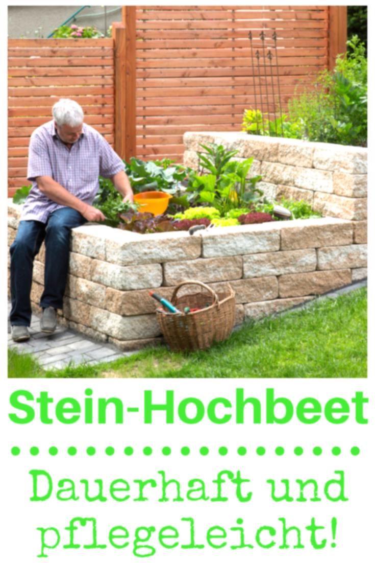 Foto Hochbeet Aus Naturstein Bild 3572466 Garten Garten Pflanzen Garten Hochbeet