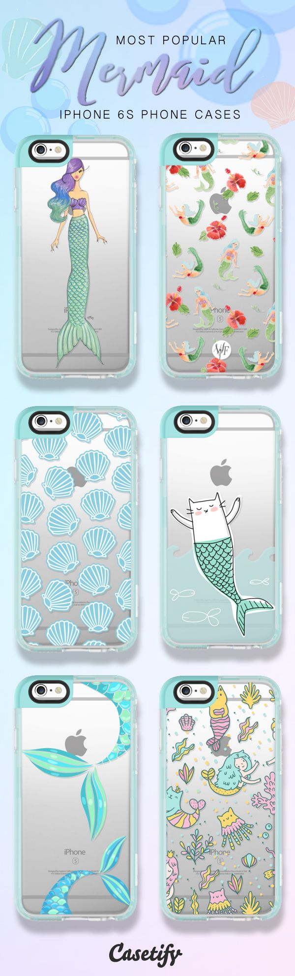Most popular mermaid iPhone 6S phone cases here > https://www.casetify.com/artworks/uxigEoKtOs