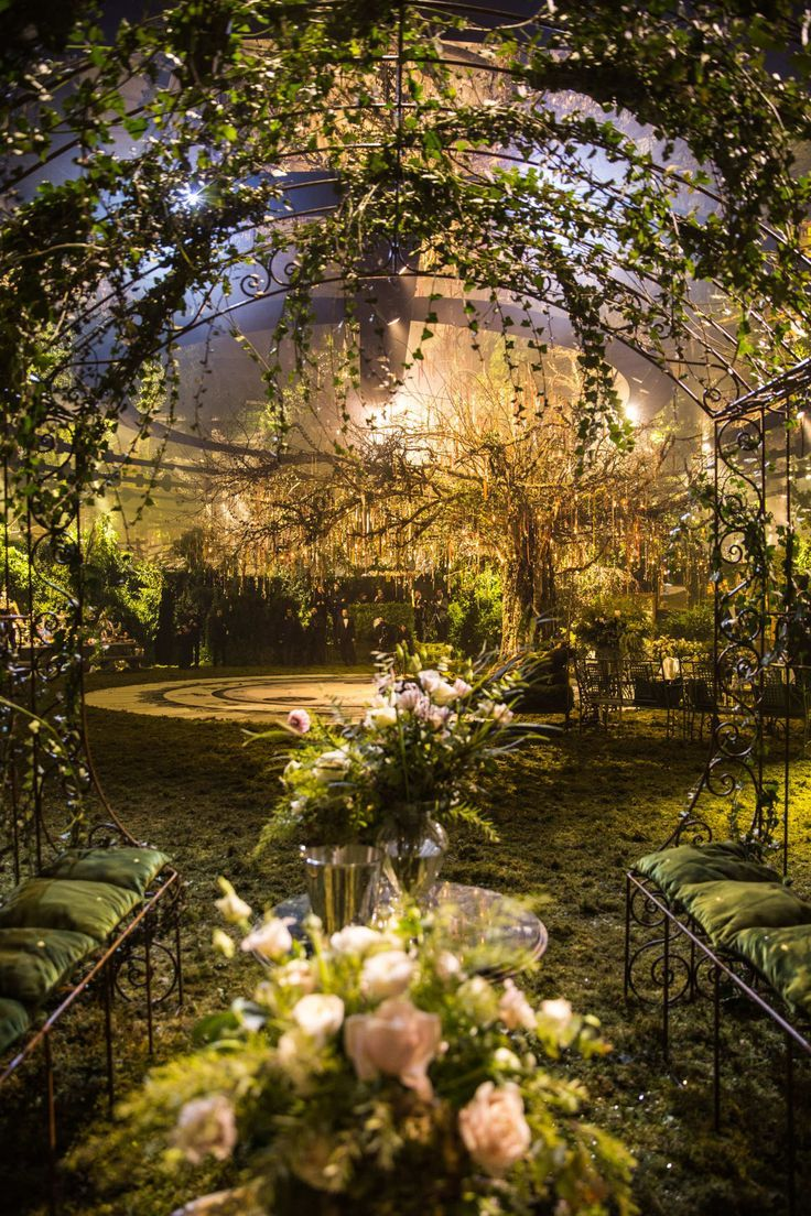 Dior's Bal Masqué party was a real fairy tale …