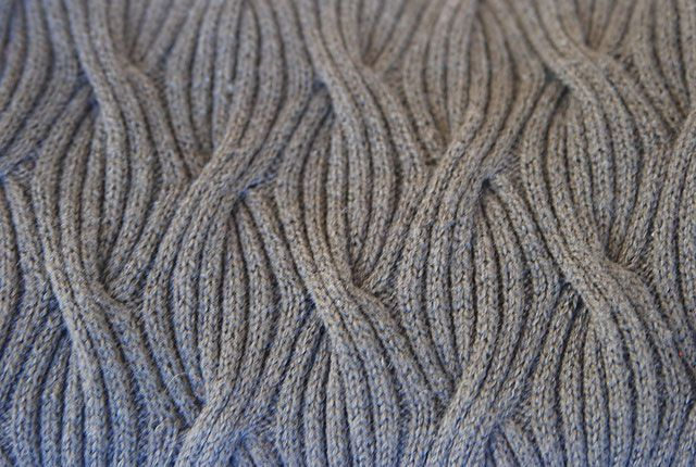 Reversible Knitting Stitches Cables : Reversible Cabled-Rib Shawl by Lily M. Chin Knitting Pinterest Cable, K...