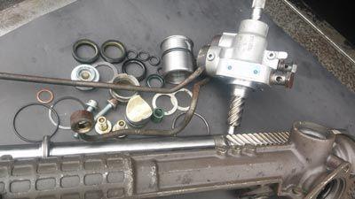 Cremallera de dirección hidráulica Mercedes (auto)