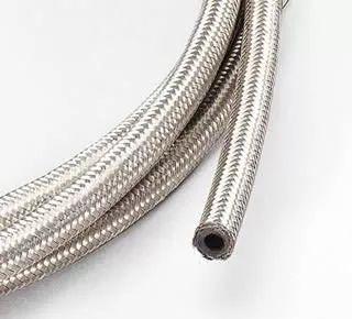 mangueira 100% borracha flexível aço p/gás glp 3/8- no metro