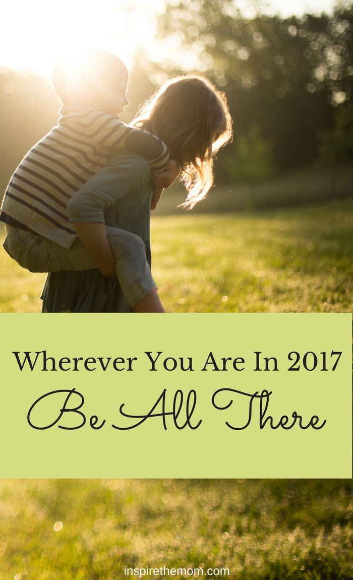 """Wherever you are, be all there."" -Jim Elliot. As we set our goals for 2017, let's remember that people are what matter most. Not everyone in the world, at every moment…but ones you are…"