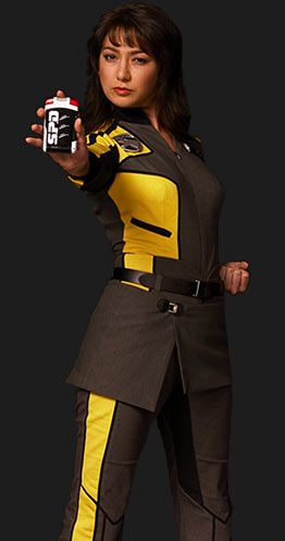 "Elizabeth ""Z"" Delgado - Power Rangers S.P.D. she was my favourite"