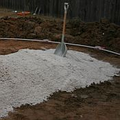 Estimated Sand Volume Requirement Table for Above Ground Pool Installations