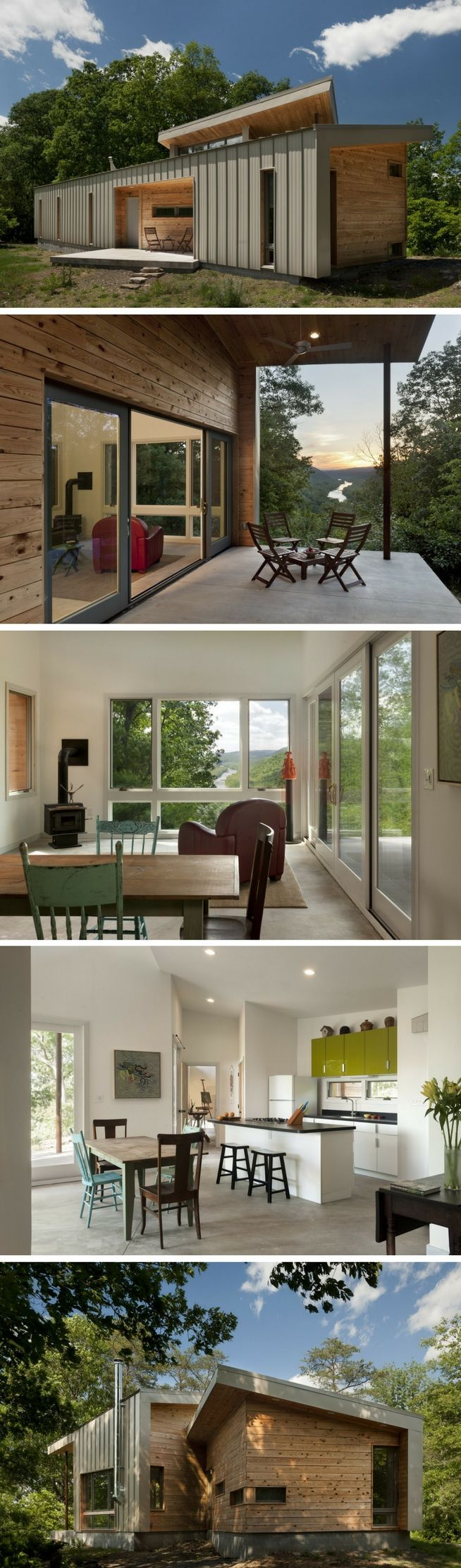 THE RIDGE SHIPPING CONTAINER HOUSE #ContainerHomeDesigns