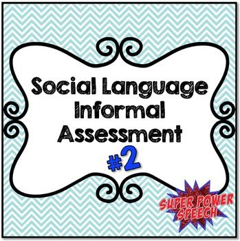 """""""Seriously- what a terrific product. Much better for getting information for my social language students than the expensive tests out there. Very thorough and easy to use. Great product!"""" (S.L.)"""
