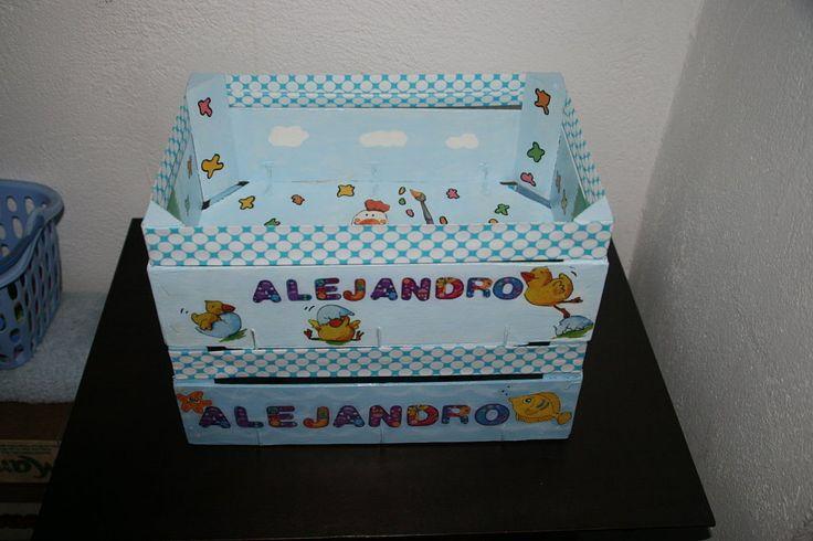 Manualidades con cajas de frutas manualidades - Manualidades con cajas ...