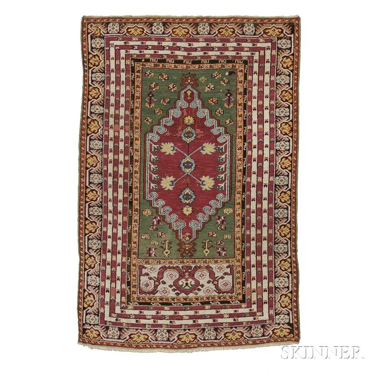 Kirsehir Rug, Central Anatolia, late 19th century, , 5 ft. 10 in. x 3 ft. 10 in.  | Skinner Auctioneers