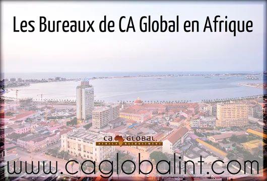 Les Bureaux de CA Global en Afrique - Africa Recruitment