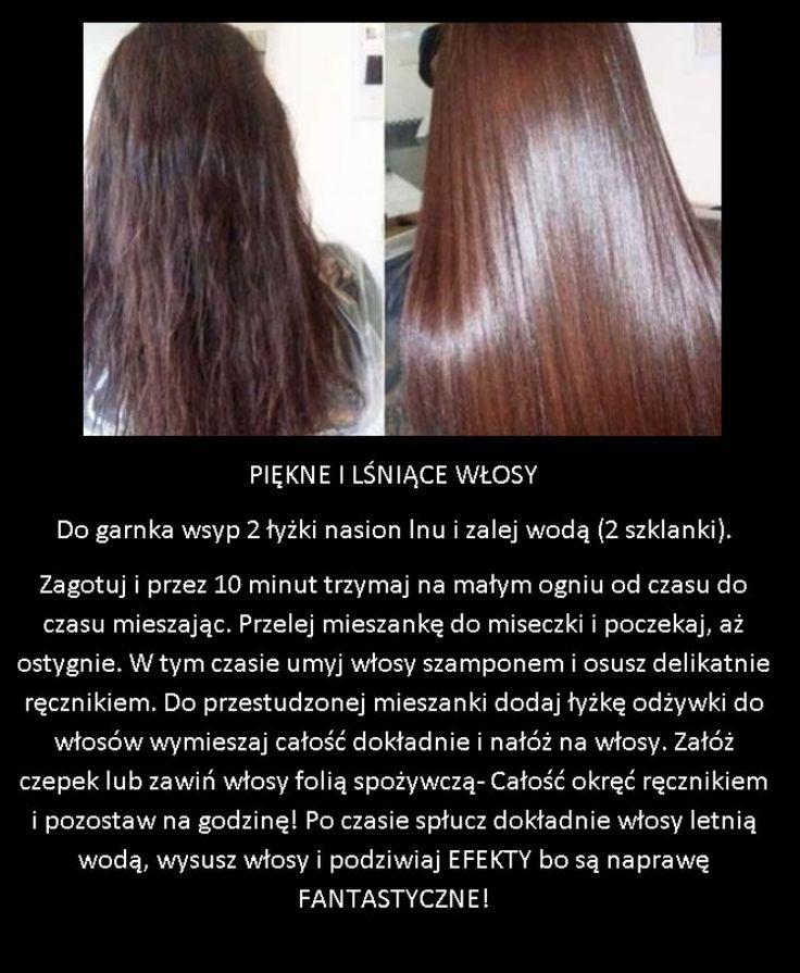 Prosty i tani trik na piękne lśniące włosy jak z reklamy!