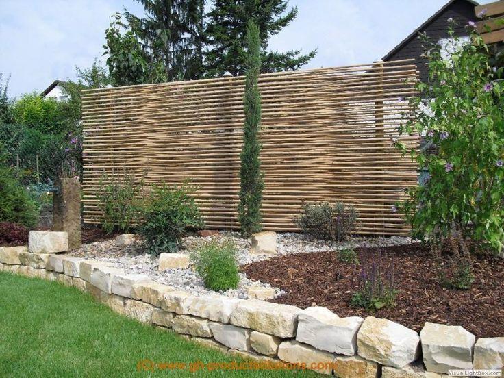 Ähnliches Foto Bambus sichtschutz, Rustikaler zaun