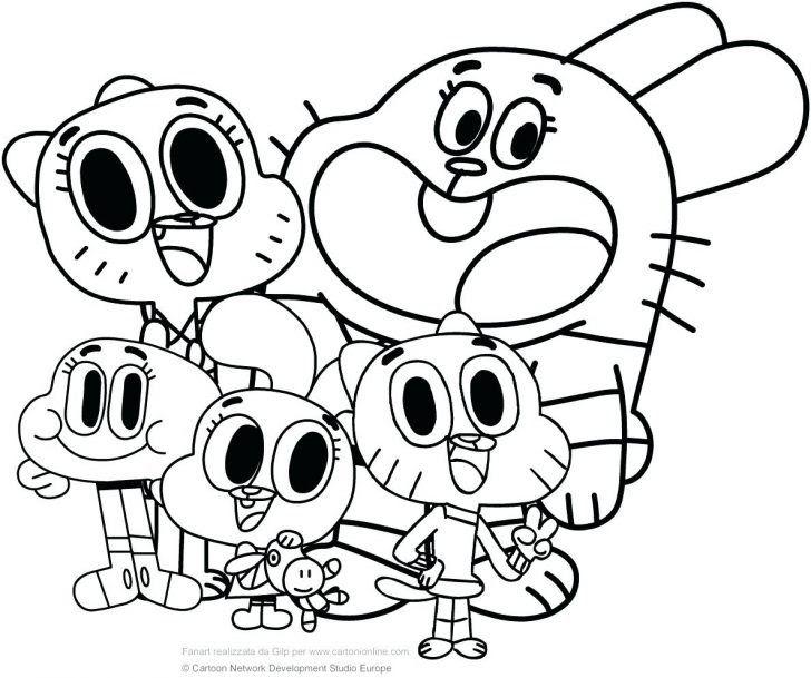 Coloring Cartoon Pages - Cinebrique