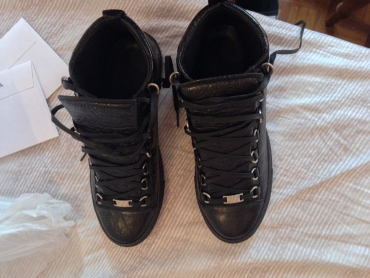 Balenciaga Black High top Arena