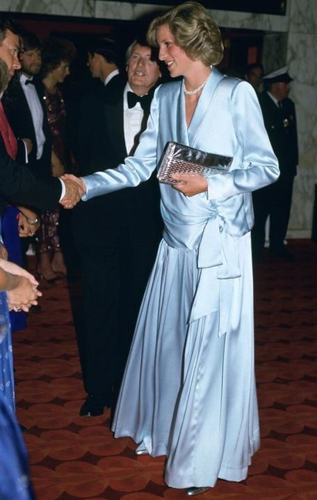 """June 11, 1984: Prince Charles and Princess Diana attend """"Indiana Jones and the Temple of Doom"""" premiere at the Empire Cinema in Leicester Square, London."""
