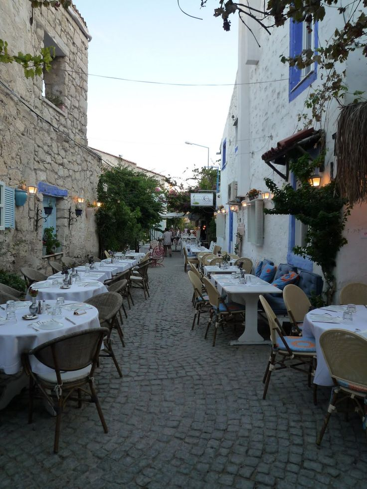 Side street in Alacati