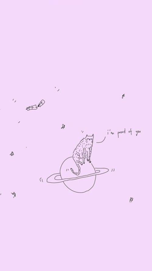 One Line Text Art Cat : Best images about papeis de parede on pinterest