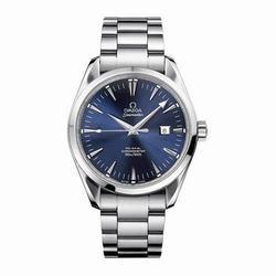 Omega Men's Seamaster Aqua Terra Blue Dial Watch