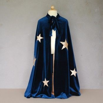 Merlin blue cape