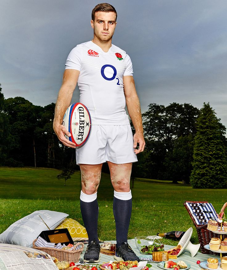 Game on: Stars of the Rugby World Cup prepare to kick off | Sport | The Guardian George Ford.