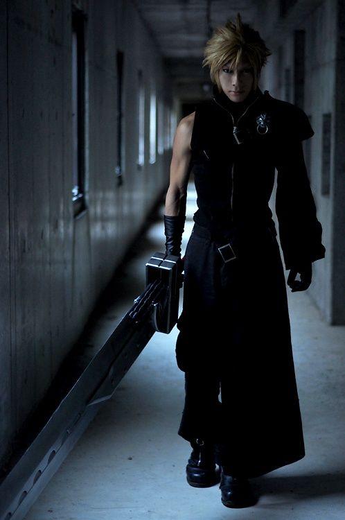 cloud strife - Final Fantasy #cosplay #costume #japan