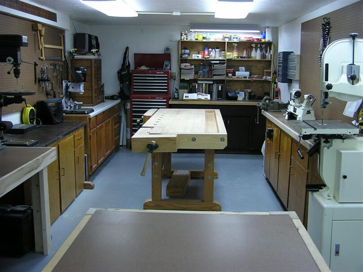 woodworking basement woodshop 2