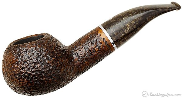 Savinelli Marron Glace Rusticated Brown (320 KS) Pipes at Smoking Pipes .com
