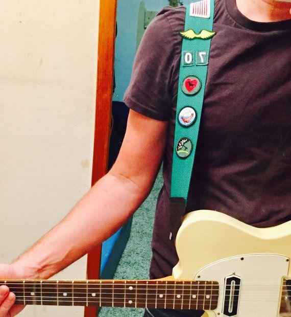 Vintage Girl Scout Sash guitar instrument trap brownie by daindain