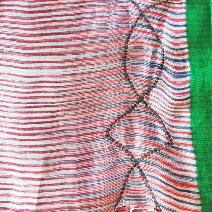 COMPAS geranium / ocean - amet & ladoue SS14 #ametandladoue #stole