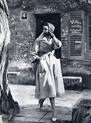 Christian Dior, 1957 - Vicki Archer //   https://www.instagram.com/vickiarcher/