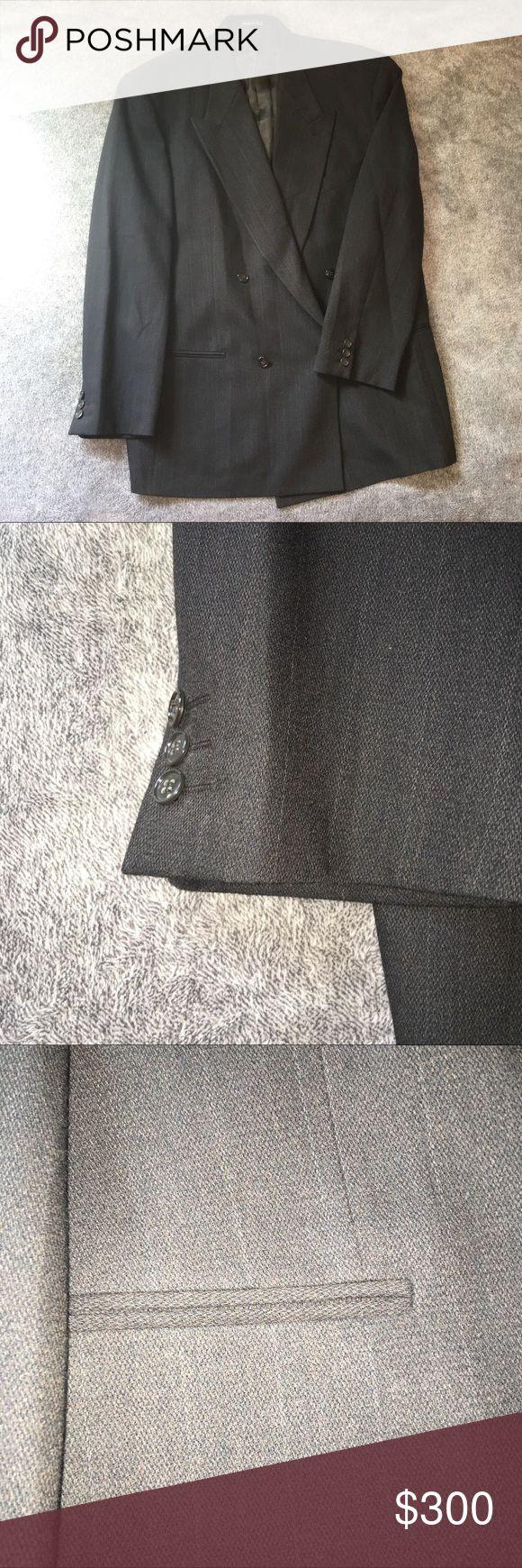 Mani by Giorgio Armani Suit Jacket Mani by Giorgio Armani Suit Jacket - Pinstripe Giorgio Armani Suits & Blazers
