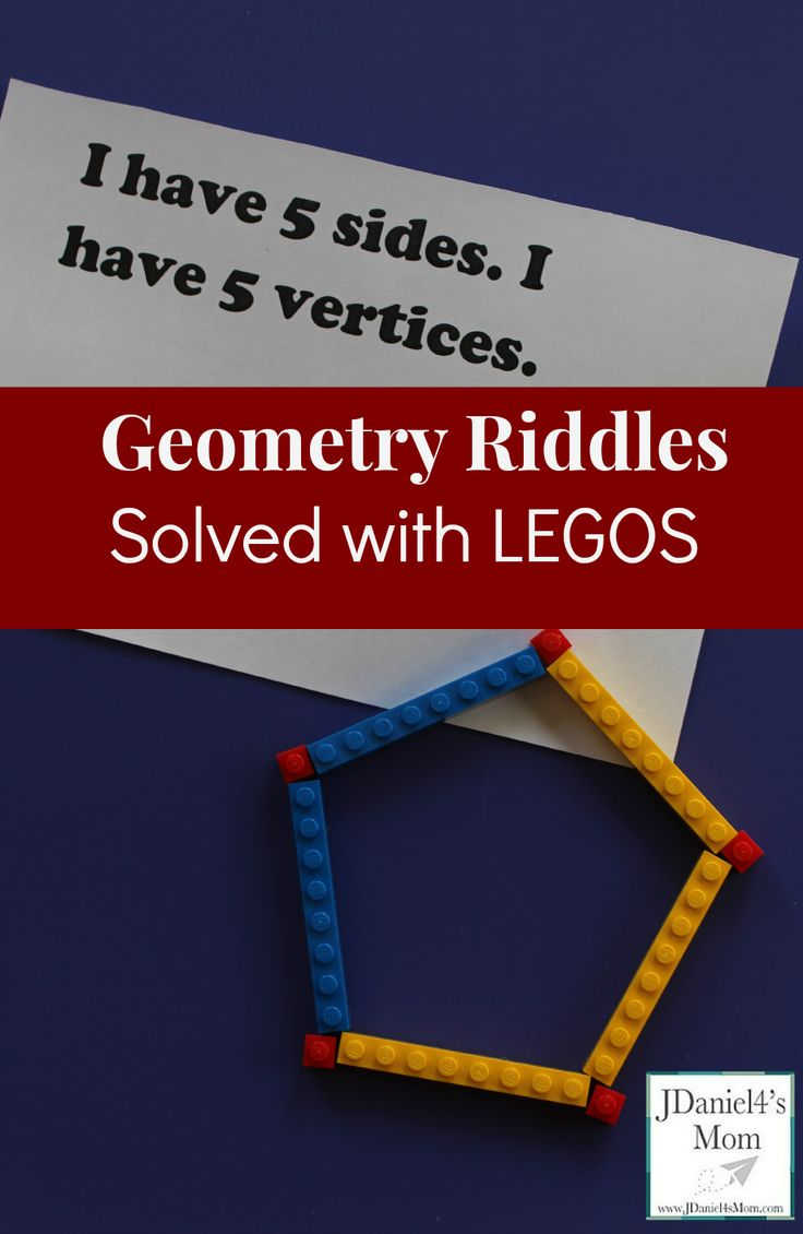 best ideas about math solver expression solver the printable geometry riddles in this post can be answered by creating the shape they describe legos what a fun way to be a math solver of riddles