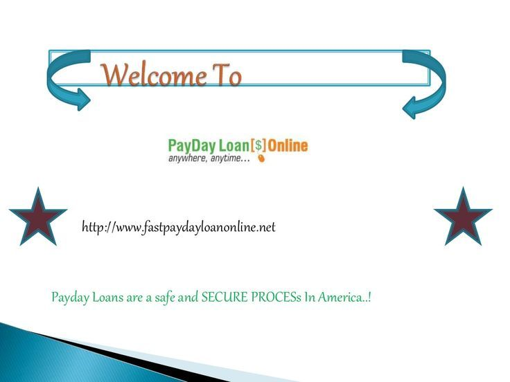 Instant Payday Loans Online on Same Day by Fast Payday Loan Online via slideshar