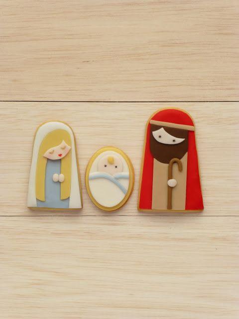 Peaceofcake ♥ Sweet Design - nativity story cookies