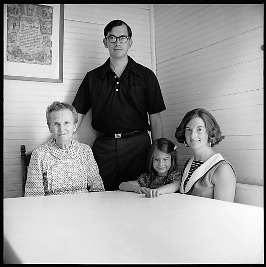[44 Portraits of Benjamin Hill and His Family, Gillsville, Georgia] by Walker Evans
