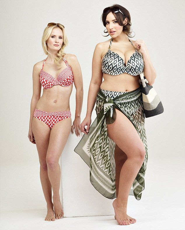 I have a huge crush on Jada. Debenhams swimwear shots celebrate curves thanks to their size 18 bikini model