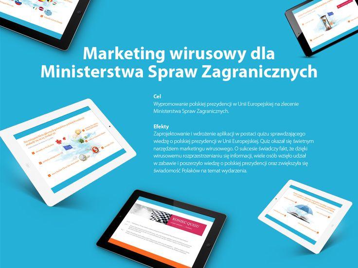 Marketing wirusowy dla Ministerstwa Spraw Zagranicznych. #migomedia