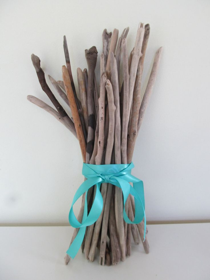 Vase Filler Twigs Wedding Decor Driftwood Branches Home Decor Drift Wood Beach Decor by LonelyBeach on Etsy