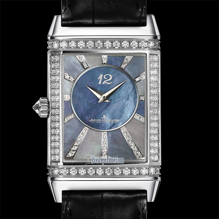 Reverse Dial of the Jaeger LeCoultre Grande Reverso Lady Ultra Thin Duetto Duo Ladies Watch Model #: 3313490