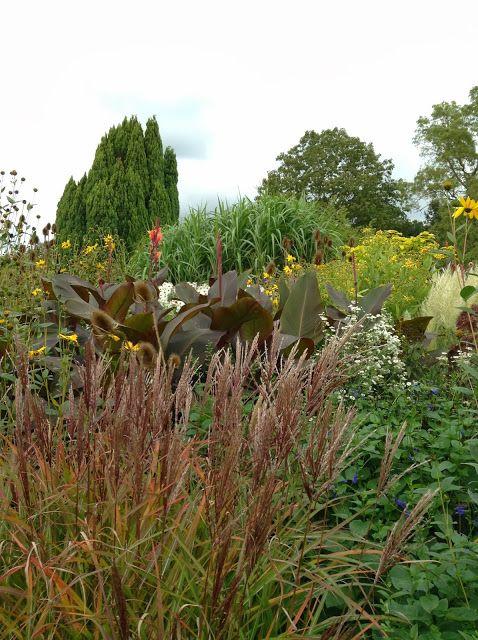 Great Dixter House and Gardens, October 2013 - Photo by Noemi Mercurelli of Mercurelli's Garden Design